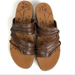 Baretraps 'Jump Out' Brown Leather Boho Sandal